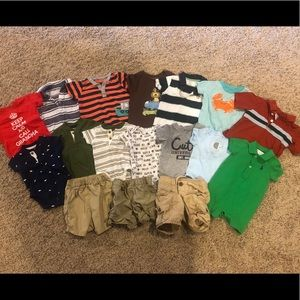 Lot of boys 3-6 month summer/spring clothes